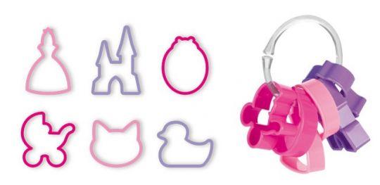 Tescoma Формочки для девочек DELICIA KIDS, 6 шт 630920