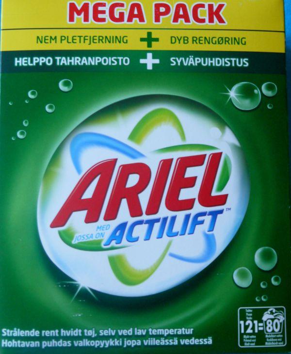 ARIEL actilift стиральный порошок