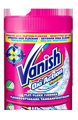 Vanish Oxi Action для цветного белья