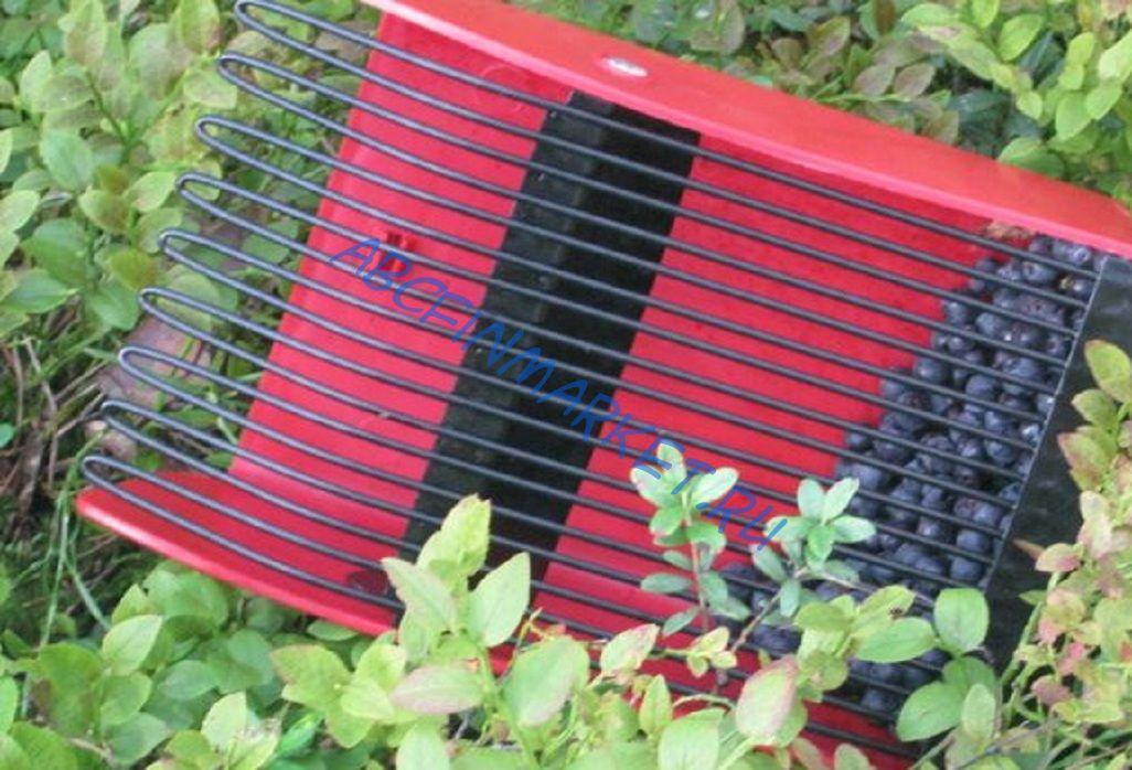 Комбайн для ягоды своими руками