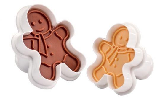 TESCOMA Формочки с печатью для печенья DELICIA 2 шт фигурки 630858