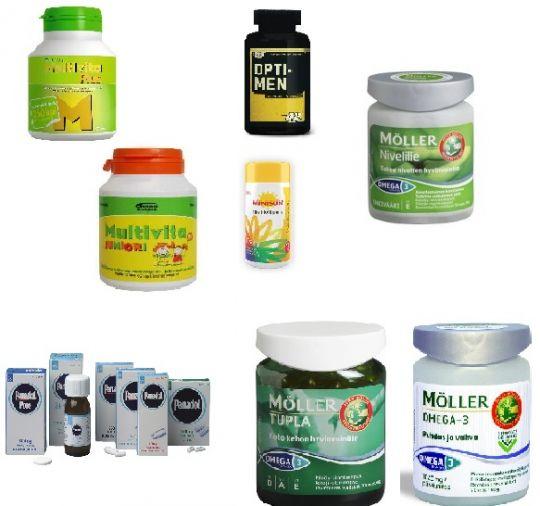 Витамины, аптечные товары