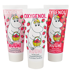 OXYGENOL MUUMI клубничная 50 мл зубная паста