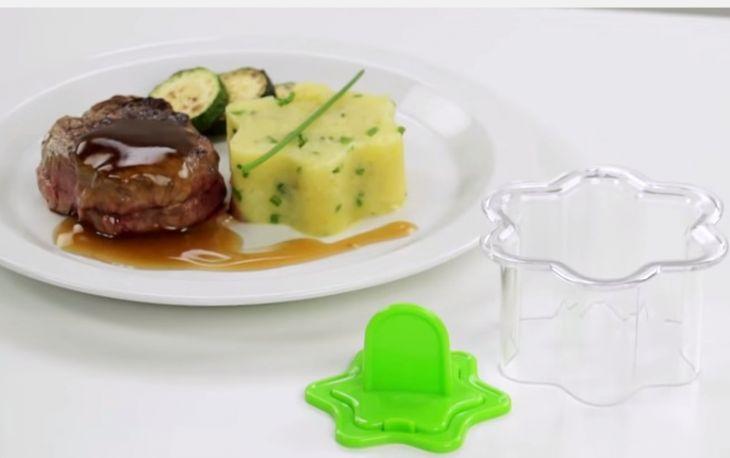 Tescoma Формочки для придания блюдам формы ЦВЕТЫ 2 шт PRESTO 422220