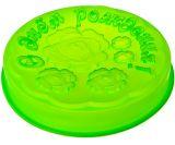 Форма для выпечки силикон  d 28 см С Днем Рождения 856-061