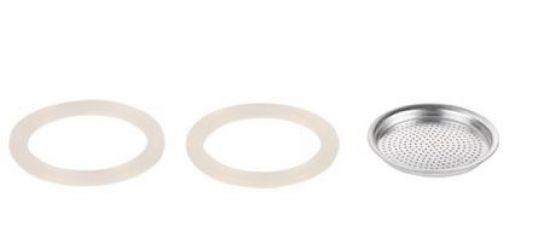 Tescoma Фильтр и 2 силиконовые прокладки для кофеварки PALOMA, 3 чашки 64700304