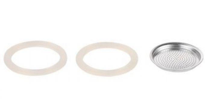Tescoma Фильтр и 2 силиконовые прокладки для кофеварки PALOMA, 9 чашек 64700904